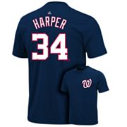 Majestic Washington Nationals Bryce Harper Tee