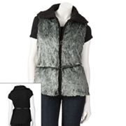Say What? Faux-Fur Vest - Juniors