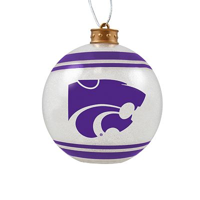 Kansas State Wildcats Light-Up Ball Ornament