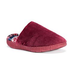 MUK LUKS Rocker Sole Scuff Slippers