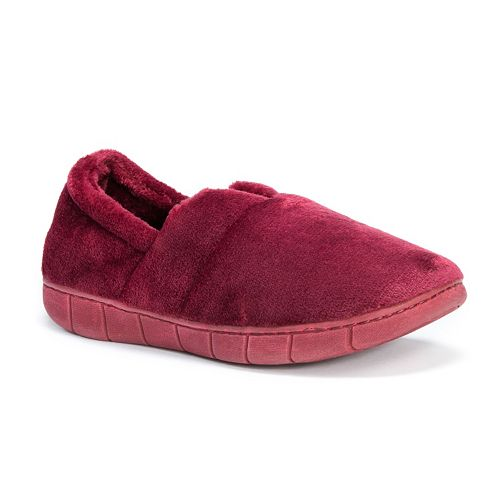 MUK LUKS Rocker Sole Fleece Slippers