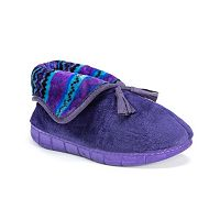 MUK LUKS Rocker Sole Fleece Bootie Slippers