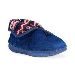 MUK LUKS Rocker Sole Fleece Bootie Slippers