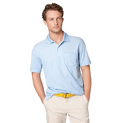 Arrow Solid Oxford Performance Polo