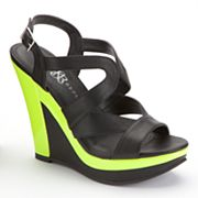 Rock and Republic Platform Wedge Sandals - Women