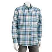 Arrow Oxford Plaid Casual Button-Down Shirt