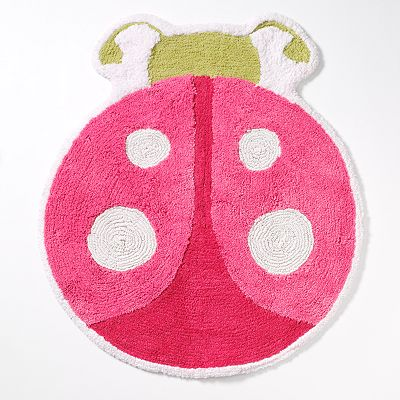 Saturday Knight, Ltd. Butterfly Garden Bath Rug