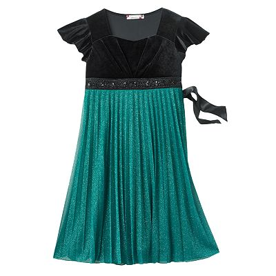 Speechless Emma Pleated Dress - Girls 7-16