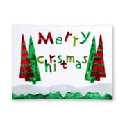 Pfaltzgraff Merry Christmas Rectangular Serving Platter