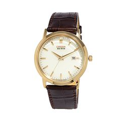 Citizen Eco-Drive Men's Leather Watch - BM7193-07B