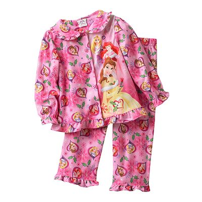 Disney Princess Ruffled Pajama Set - Toddler