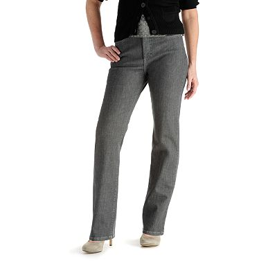 Lee Holly Classic Fit Slimming Straight-Leg Jeans