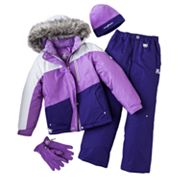 ZeroXposur Tara Colorblock Snowboard Jacket and Snowpants Set - Girls 7-16