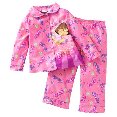 Dora the Explorer Super Sweet Pajama Set - Toddler