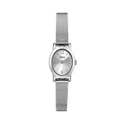 Timex Silver Tone Watch - T2N743KZ - Women