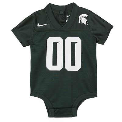 Nike Michigan State Spartans Jersey Creeper - Baby