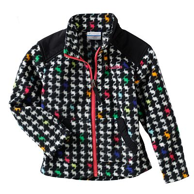 Columbia Houndstooth Complex Cruiser Jacket - Girls 4-6x