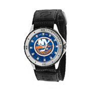Game Time Veteran Series New York Islanders Silver Tone Watch - NHL-VET-NYI - Men