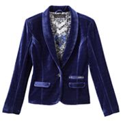 Rock and Republic Velvet Blazer - Girls 7-16