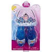 Disney Princess Cinderella Tiara & Shoe Set