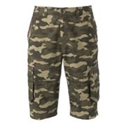 Helix Camouflage Cargo Shorts - Men