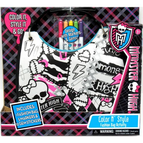 Monster High Color 'N Style Purse