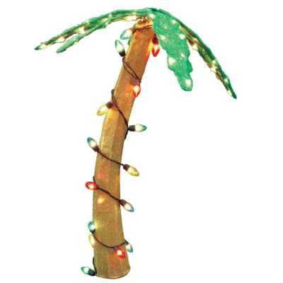 Pre-Lit Palm Tree Outdoor Decor