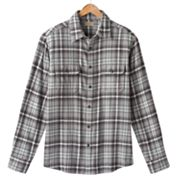 SONOMA life + style Plaid Flannel Casual Button-Down Shirt