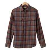 SONOMA life + style Ombre Flannel Casual Button-Down Shirt