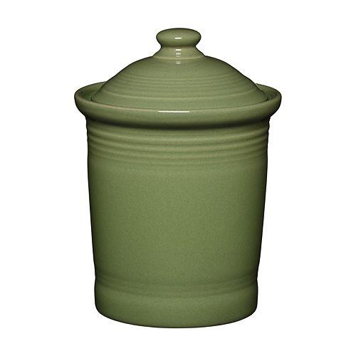 Sage Green Kitchen Storage Jars: Fiesta 1-qt. Kitchen Canister