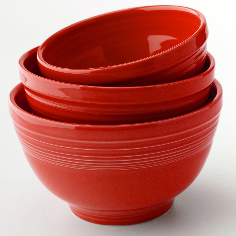 Fiesta 3 Pc. Baking Bowl Set