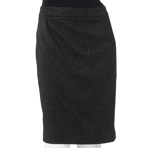 Apt. 9® Brocade Pencil Skirt