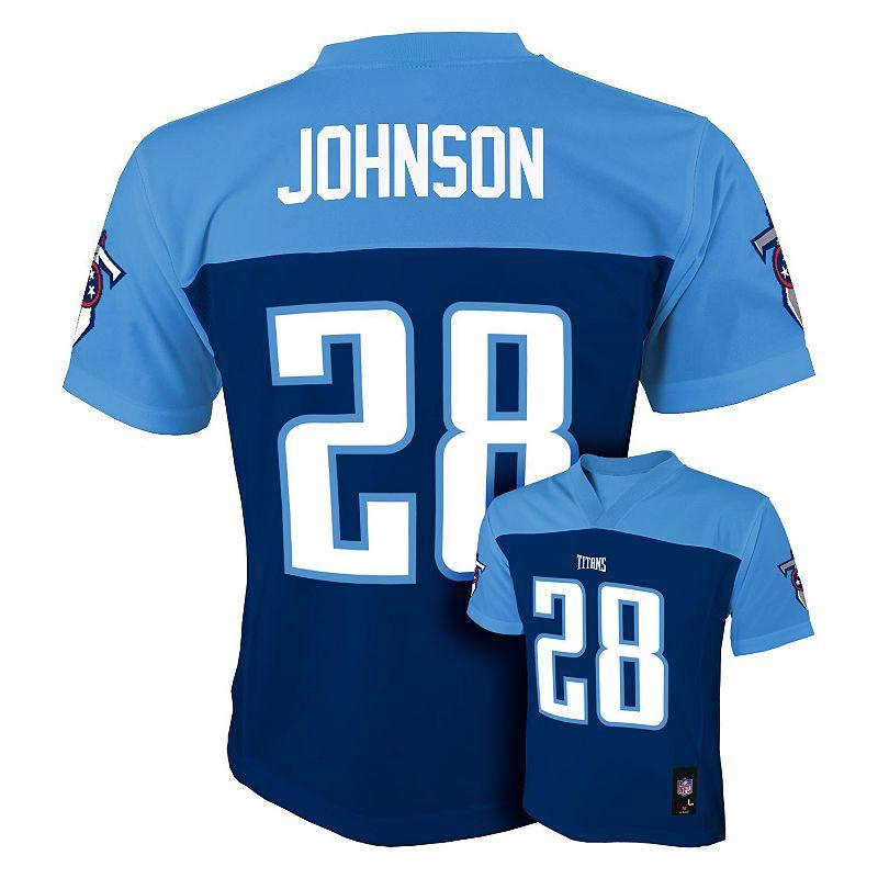 Tennessee Titans Chris Johnson Jersey - Boys 8-20