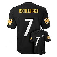Boys 8-20 Pittsburgh Steelers Ben Roethlisberger NFL Replica Jersey