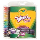 Crayola 30 pkTwistables Colored Pencils