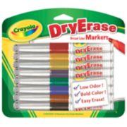 Crayola 8-pk. Washable Dry-Erase Markers