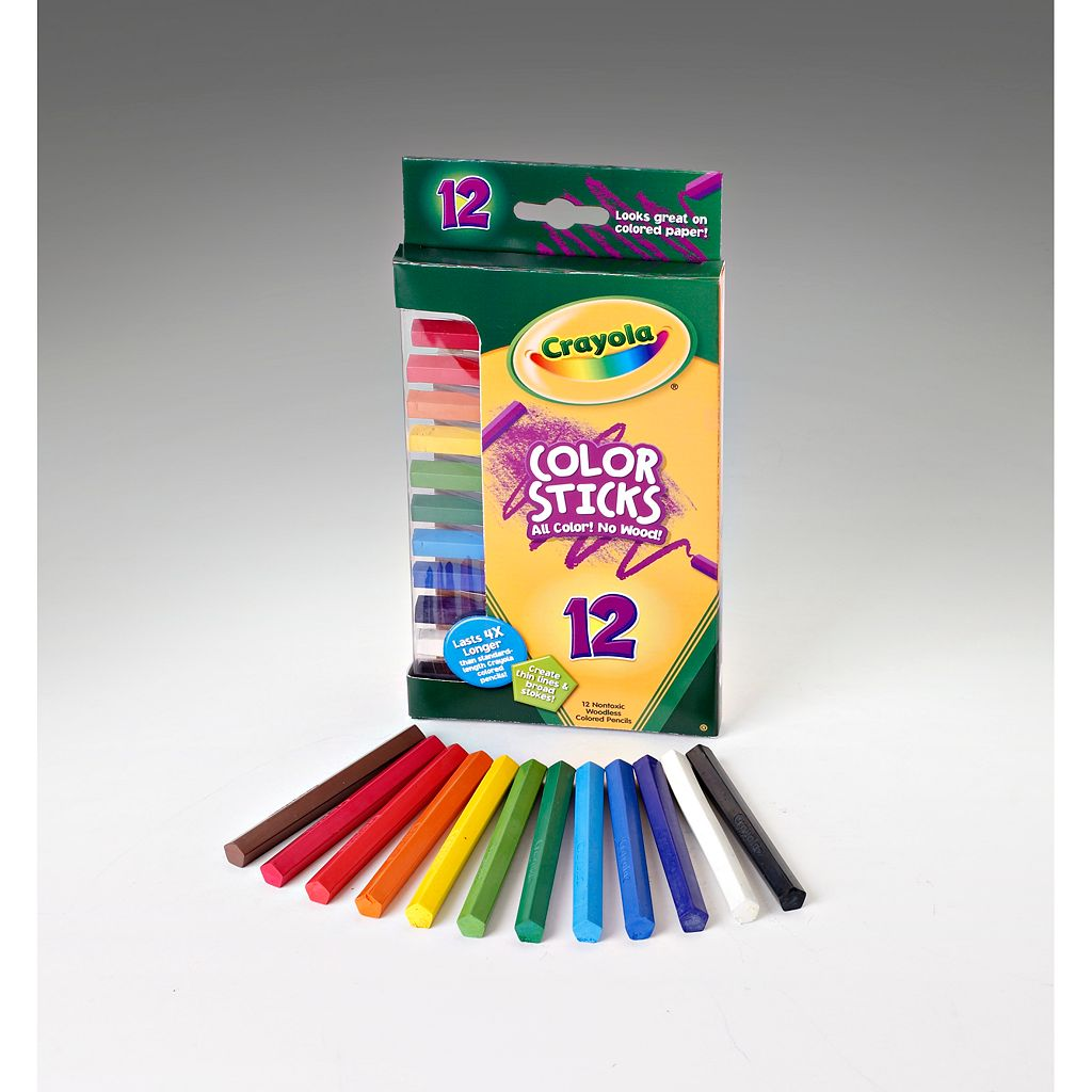 Crayola 12-pk. Color Sticks