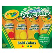 Crayola 4-pk. Washable Fingerpaints