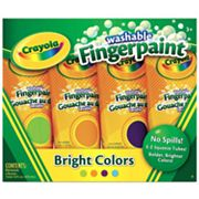 Crayola Secondary Colors 4-pk. Washable Fingerpaint