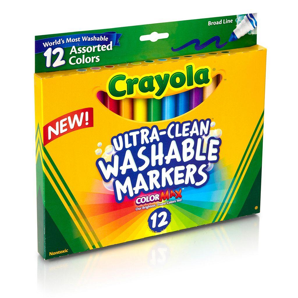 Crayola 12-pk. Washable Markers