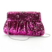 Gunne Sax by Jessica McClintock Sequin Flap Clutch