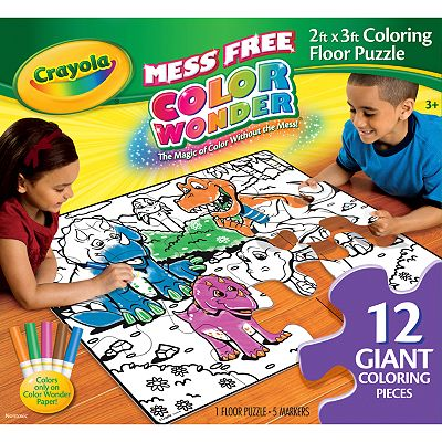 Crayola Color Wonder Floor Puzzle