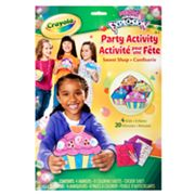 Crayola Neon Color Explosion Party Activity Sweet Shop Set