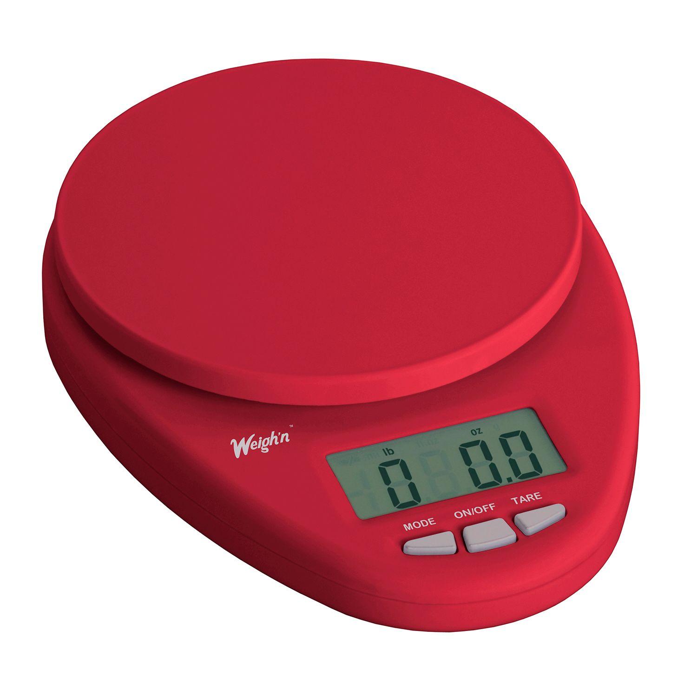 Escali Weighu0027n Digital Kitchen Scale