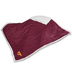 Virginia Tech Hokies Sherpa Blanket