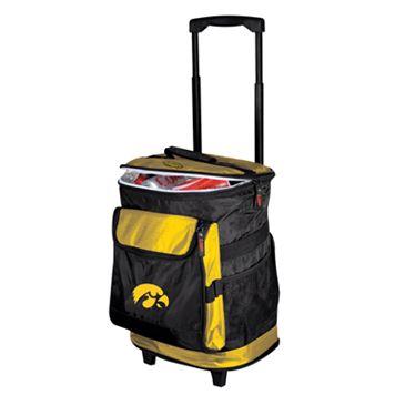 Iowa Hawkeyes Rolling Cooler