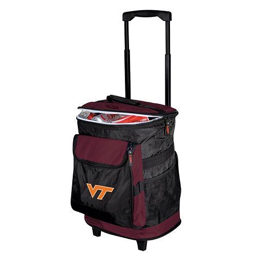 Virginia Tech Hokies Rolling Cooler