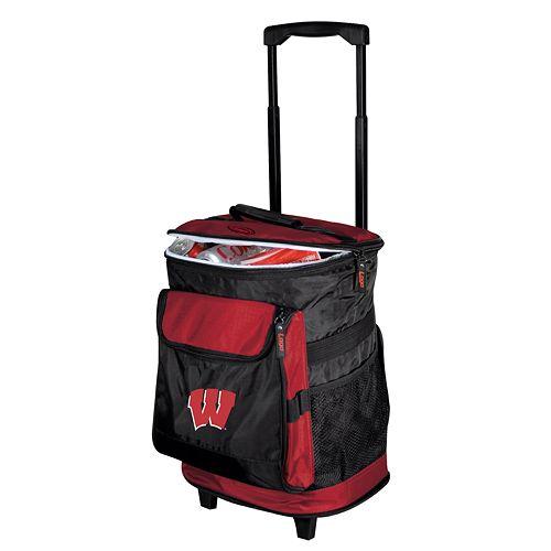 Wisconsin Badgers Rolling Cooler