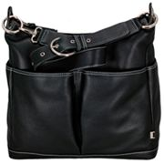 OiOi Leather Diaper Hobo