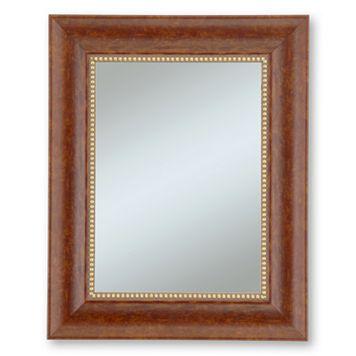 Alpine Lorrain Cherry Beveled Wall Mirror